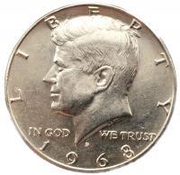 50 центов 1968 года Кеннеди