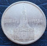 5 Рейхсмарок 1935 года Кирха с подписью