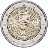 2 евро 2019 литва