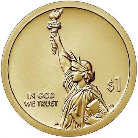 США 1 Доллар 2019 Вакцина Против Полиомиелита