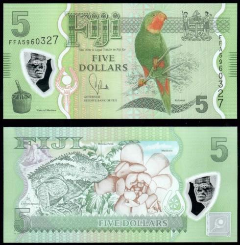 Фиджи 5 долларов