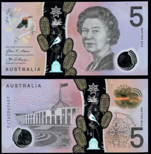 Австралия 5 долларов