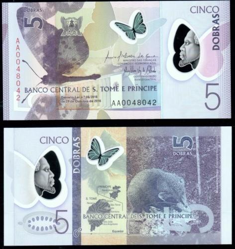 банкноты Сан-Томе и Принсипи