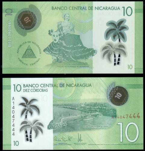 банкноты никарагуа