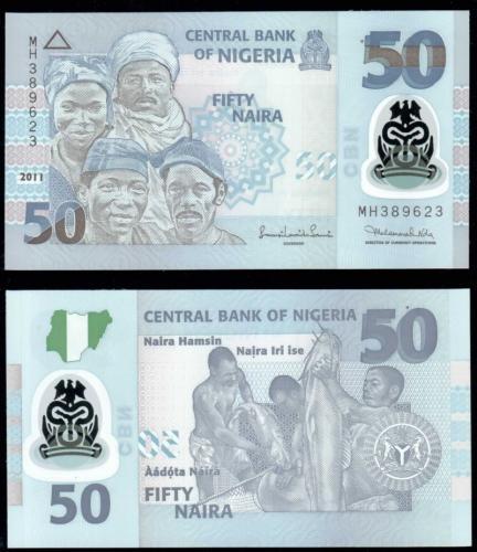 банкноты нигерии