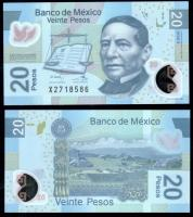 банкноты мексики