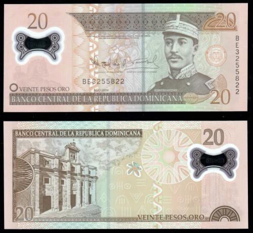 20 песо 2009 полимер