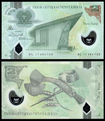 банкноты новой гвинеи