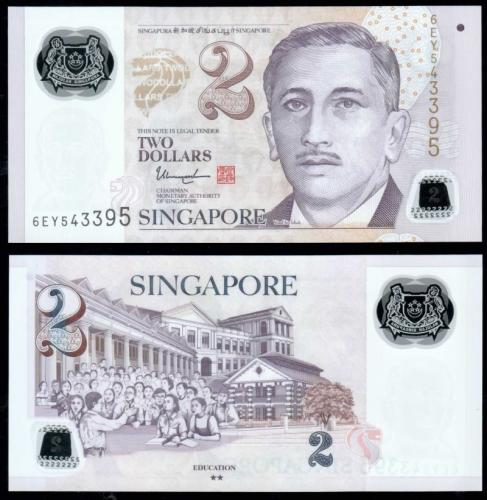 деньги сингапура