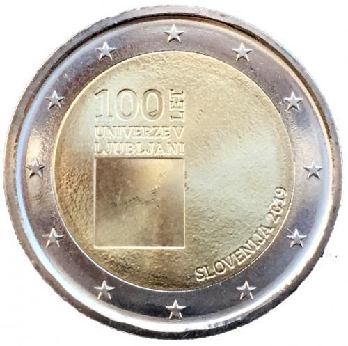 2 евро словения