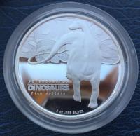 монеты с динозаврами