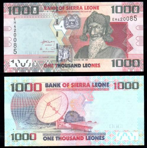 деньги Сьерра-Леоне