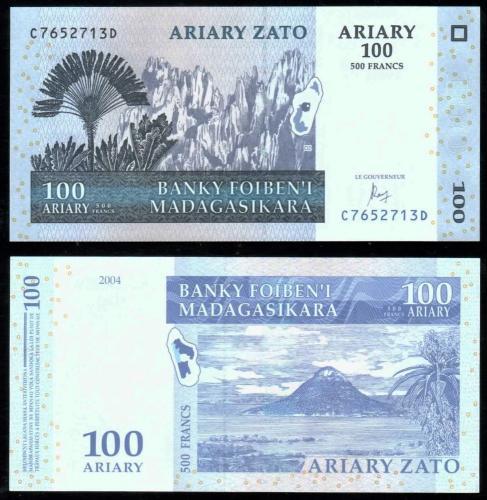 Мадагаскар 100 ариари 2004 года