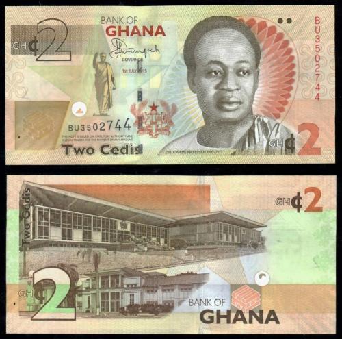 банкноты ганы