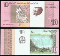 деньги банкноты анголы