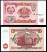 10  рублей таджикистан
