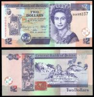 Белиз 2 доллара 2011 года