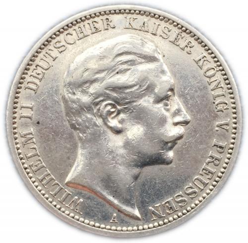 3 марки 1910 года Вильгельм
