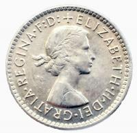 Австралия 3 пенса 1957 года