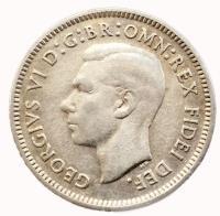 Австралия 6 пенсов