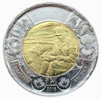 Канада 2 доллар 2015