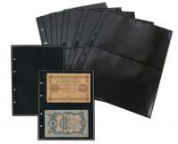 листы для банкноты черные