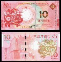 деньги банкноты макао