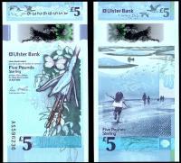 Ирландия 5 фунтов 2018-2019 Полимер