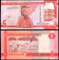Гамбия 5 даласи 2015 года