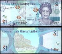 Каймановы Острова 1 доллар 2014 года