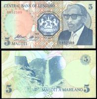 Лесото 5 малоти 1989 года