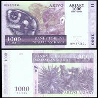 Мадагаскар 1000 ариари 2004 года