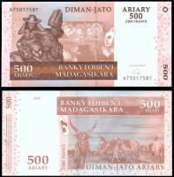 Мадагаскар 500 ариари 2004 года