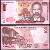 Малави 100 квача 2017 года