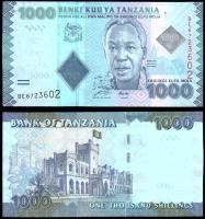 Танзания 1000 шиллингов 2010 года