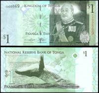 Тонга 1 паанга 2009 года