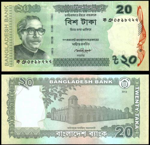 Бангладеш 20 так 2012 года