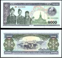 Лаос 1000 кип 2003 года