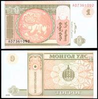 Монголия 1 тугрик 2008 года