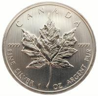 Канада 2012 Кленовый Лист Серебро