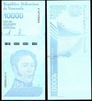 Венесуэла 10000 боливар 2019 года