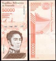 Венесуэла 50000 боливар 2019 года