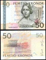 Швеция 50 крон 2008 года