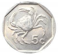 5 центов 1991 года