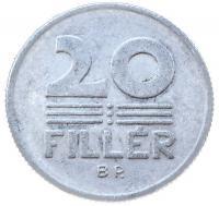20 филлеров 1968 года