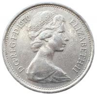 5 новых пенсов 1970 года