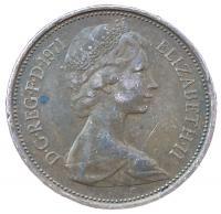 2 новых пенсов 1971 года