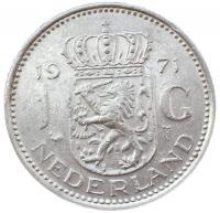 Нидерланды 1 гульден 1971 года