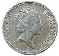 1 пенни 1988 года