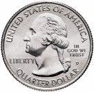 США 25 центов (квотер) 2020 Виргинские Острова (53-й парк)